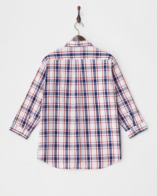 Check  パナマドビー 7分袖Shirts 2 DOORS見る