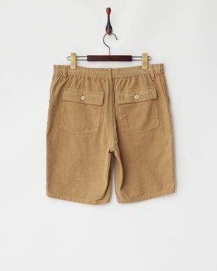 Beige  Baker Cord Shorts DOORS見る