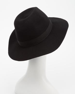 BLACK  Rohw×UR WIDE BRIM WOOL FELT HAT見る