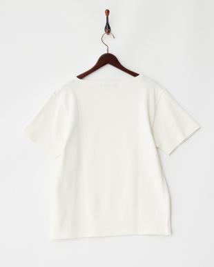 WHITE バスクTシャツ B UR見る