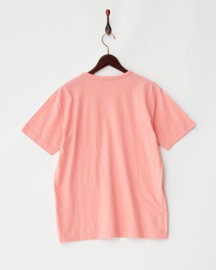 FadePink  製品染めクルーネックポケットTシャツ UR見る