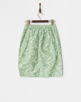 GREEN サマープリントタイトスカート KBF+見る