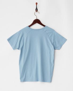 ブルー  フロッキーロゴTシャツ Sonny Label見る