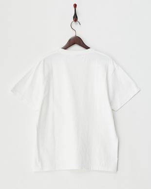 ホワイト 加工ビッグTシャツ KBF見る