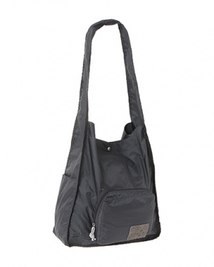 Gray  Expand-a-Bag ショルダーバッグ見る