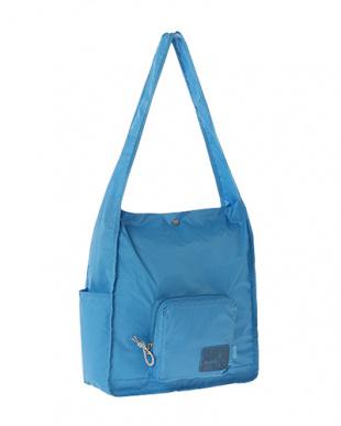 Blue  Expand-a-Bag ショルダーバッグ見る