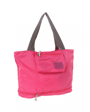 Pink Expand-a-Bag トートバッグ A見る