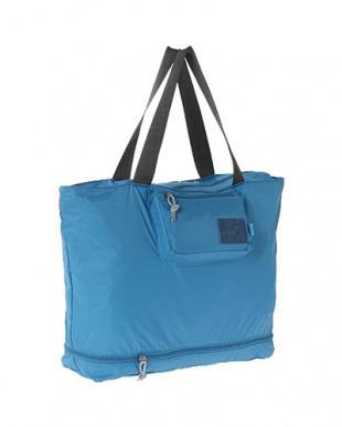 Blue  Expand-a-Bag トートバッグ B見る