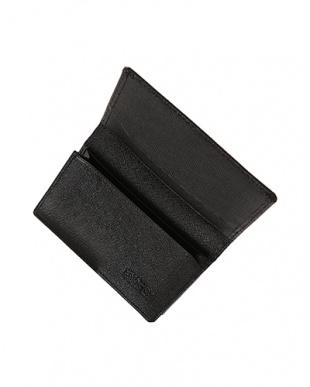 Black  SAFFIANO LEATHER カードケース見る