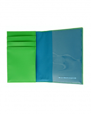 GREEN  HELLOSERIES パスポートケース見る