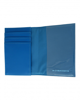 BLUE  HELLOSERIES パスポートケース見る