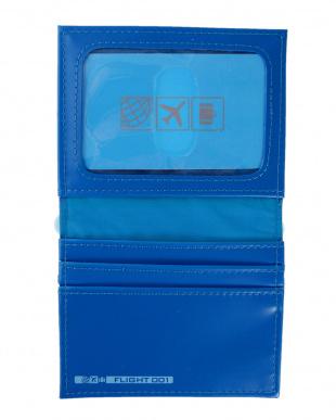 BLUE  HELLOSERIES カードケース見る