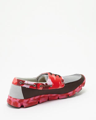 GRY/D.BRN/RED  FO-105デッキシューズ見る