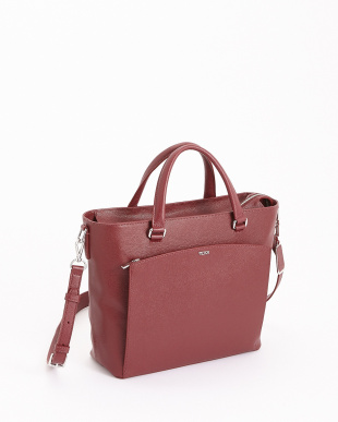 クランベリー  Small Camila Tote│WOMEN見る