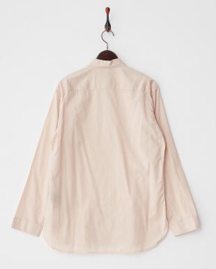 ライトピンク  ローンピンタックシャツ見る