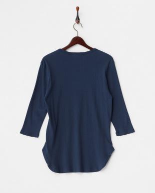 NV ラウンドリブ 7分袖 Tシャツ見る