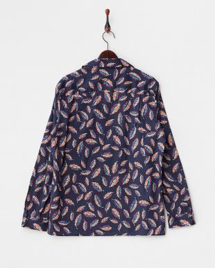 NV/PT  LIBERTY プリント オープンカラー長袖シャツ見る