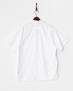 WH  迷彩ジャガード半袖開襟シャツ見る