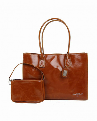 D.BROWN  LYON LARGE TOTE (専用ポーチ付き)|WOMEN見る