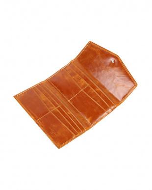 NAVY  LYON コインケース付き 三つ折り長財布|UNISEX見る