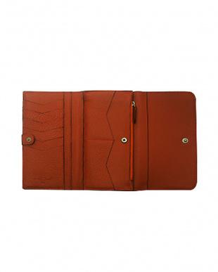 BROWN コニャックライン 三つ折り長財布|UNISEX見る