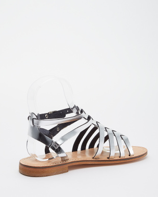 SILVER MID  WOMEN'S OPEN TOE サンダル見る