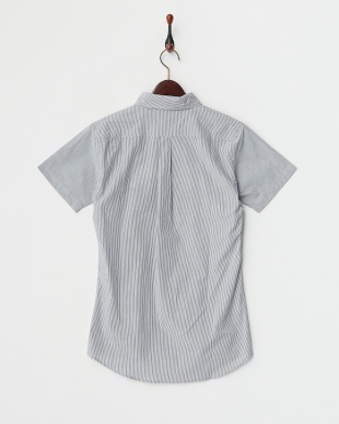 GREY MID  ボタンダウン半袖シャツ見る