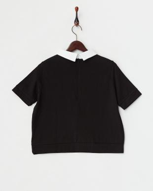 BLACK MID  配色カラープリント半袖Tシャツ見る