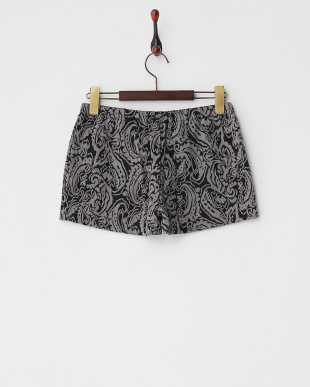 GREY MID  BOTANICAL JQ KNIT SHORT PANTS見る