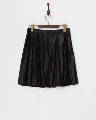 BLACK MID 箔プリントスカート見る