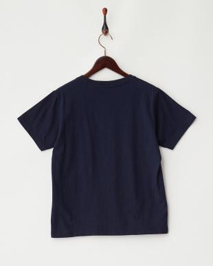 BLUE DK サガラ刺繍Tシャツ見る