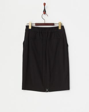 ブラック  ドビーオックスタイトスカート見る