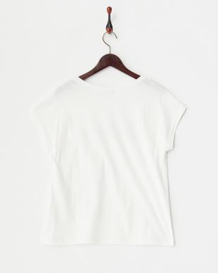 ホワイト(Juillet)  フロッキーTシャツ 見る