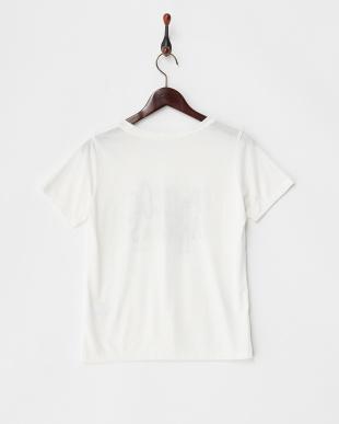 オフ  カットソー・プリント半袖Tシャツ見る