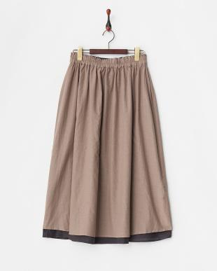 ネイビー リバーシブルスカート見る