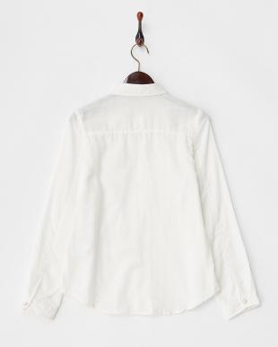 White  ダブルガーゼシャツ見る