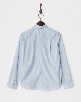 Light Blue  ベーシックコットンローンシャツ見る