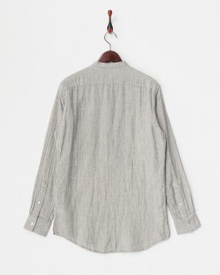 Gray  ガーゼプルオーバーシャツ見る