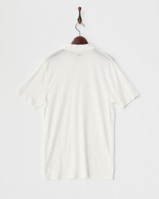 Off White  リネン混ポロシャツ見る