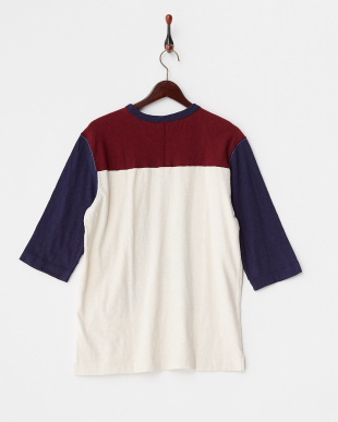 Print A  スラブフットボールプリントTシャツ見る