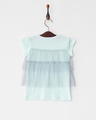 Mint  チュールフリル半袖Tシャツ見る