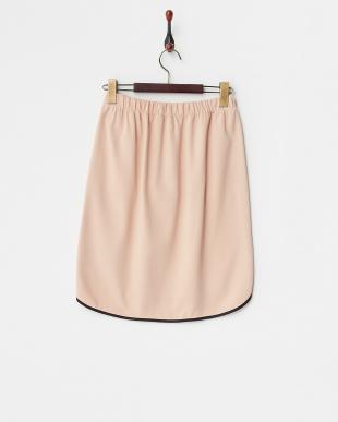 ピンク  サイドラインスカート見る