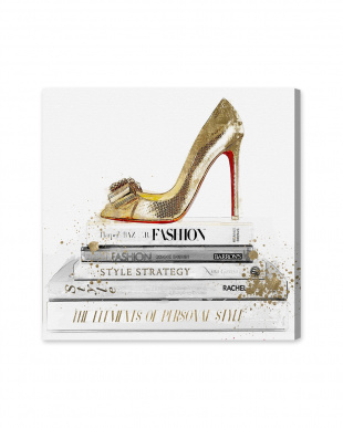 Gold Shoe and Red Sole 83.8×83.8cm見る