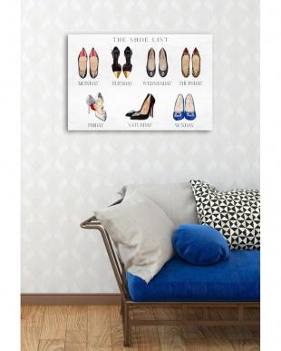 The Shoe List 38.1×25.4cm見る