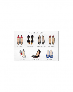 The Shoe List 60.9×40.6cm見る