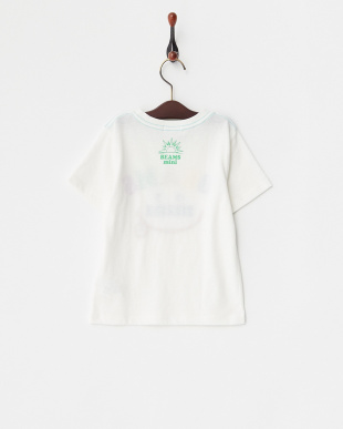 オフホワイト  スマイルロゴTシャツ見る