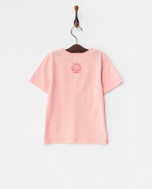 ピンク  スマイルロゴTシャツ見る