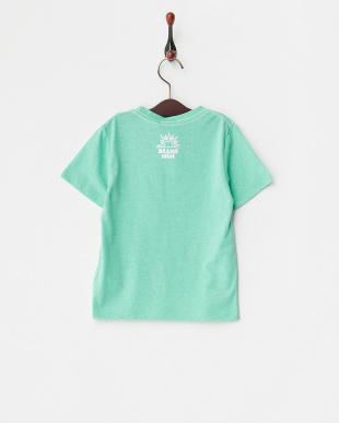 グリーン  スマイルロゴTシャツ見る