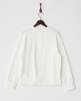 WHITE  STANDARD French Terry C/N PULLOVER見る