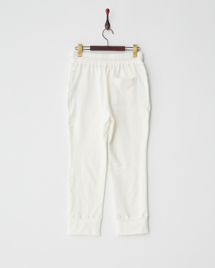 WHITE  STANDARD French Terry JOGGER PT見る
